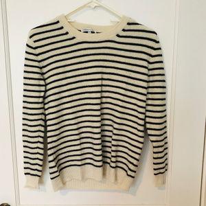Rebecca Minkoff 100% cashmere stripe sweaterXS XXS